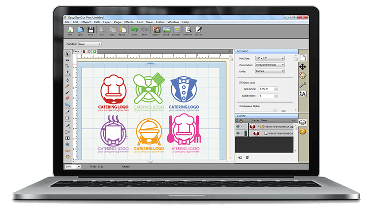 EasyCut Vinyl Cutting Software for any vinyl cutter and plotter
